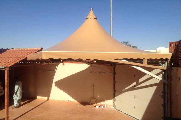 بيع قماش مظلات pvc بأسعار مميزة في الرياض
