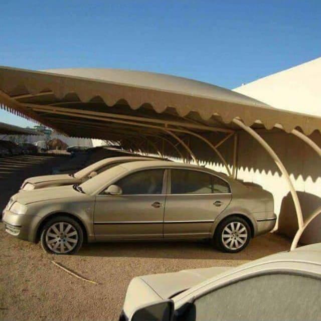 تركيب مظلات مواقف السيارات الحكومية