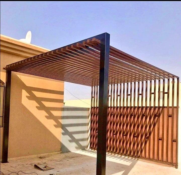 برجولات خشبية تركيب بالرياض بتصميمات 2021