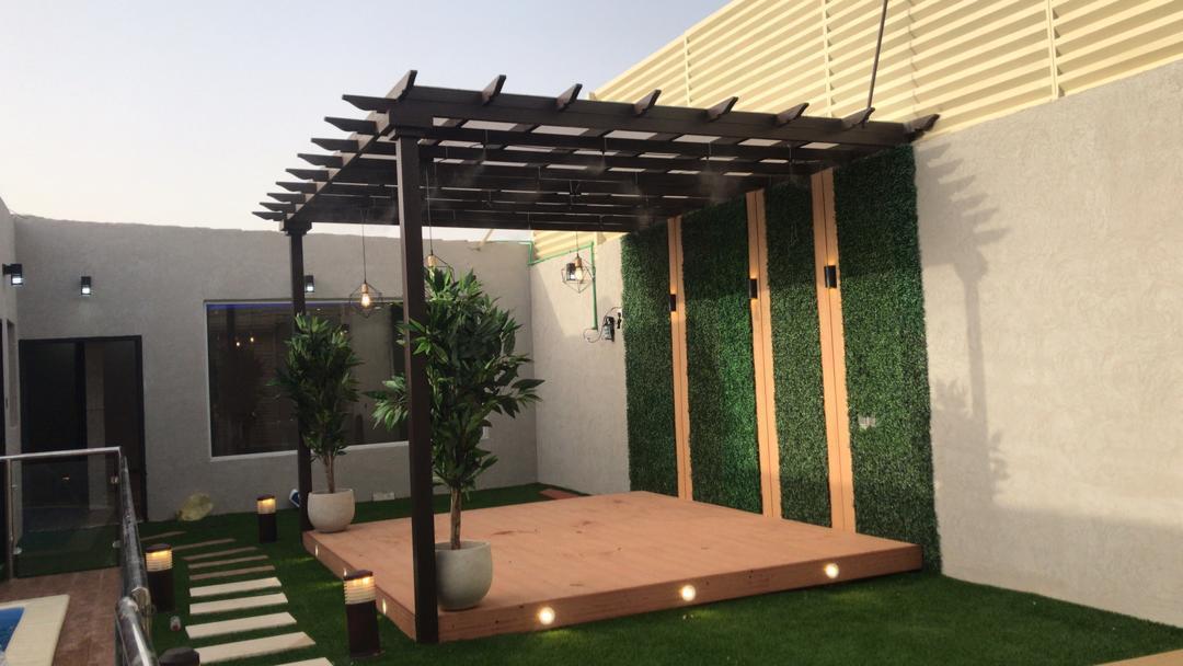 برجولات جلسات الرياض |تركيب بر جولات مظلات بأشكال مودرن 2021