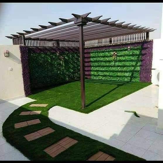 برجولات حدائق خشبية