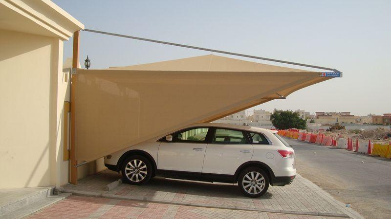 مظلات سيارات قماش